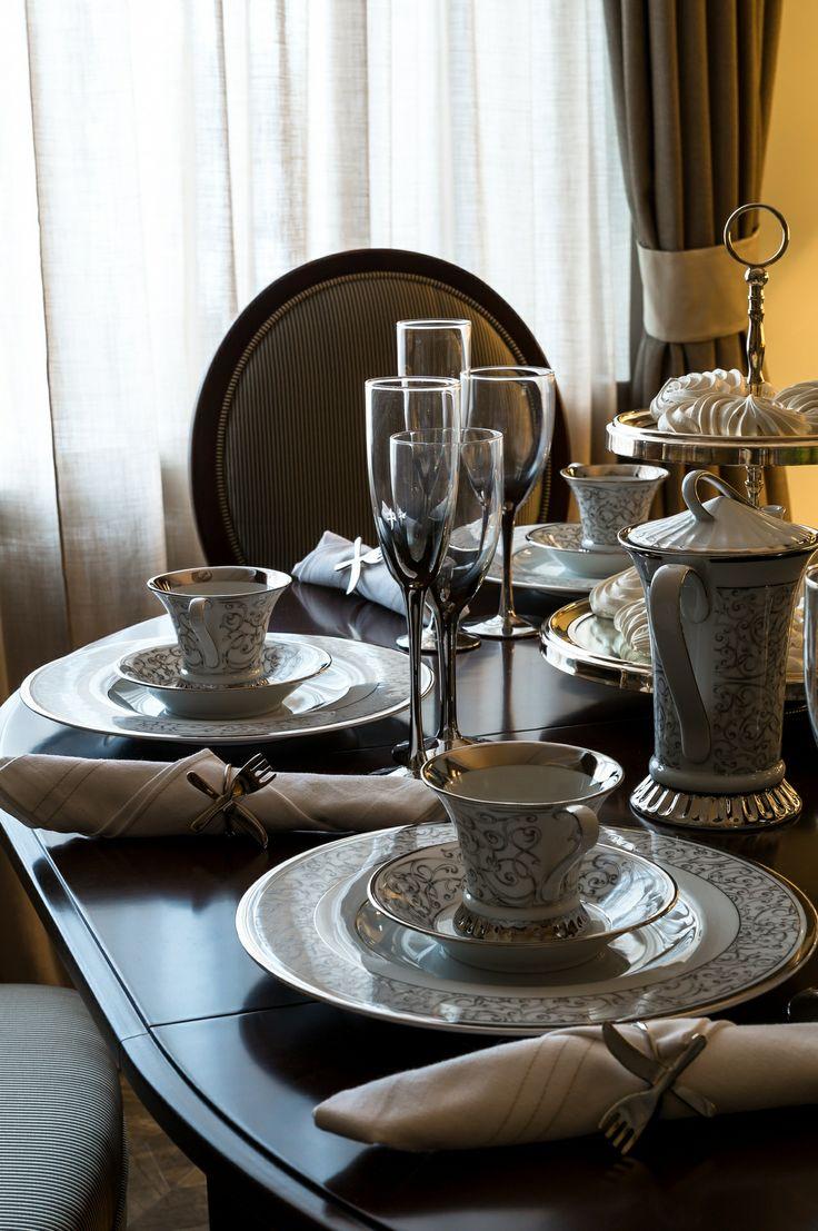 "Декор стола в нашем проекте ""Фламандский интерьер"""