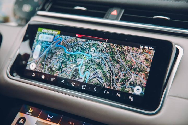 """Stylish inside and out. Display and control system is something of a game changer...""   For TG's full Range Rover #Velar review >> https://www.topgear.com/car-reviews/land-rover/range-rover-velar #cardoings #cars #supercars #auto #BMW #Audi #Mercedes #Deals #automotive"