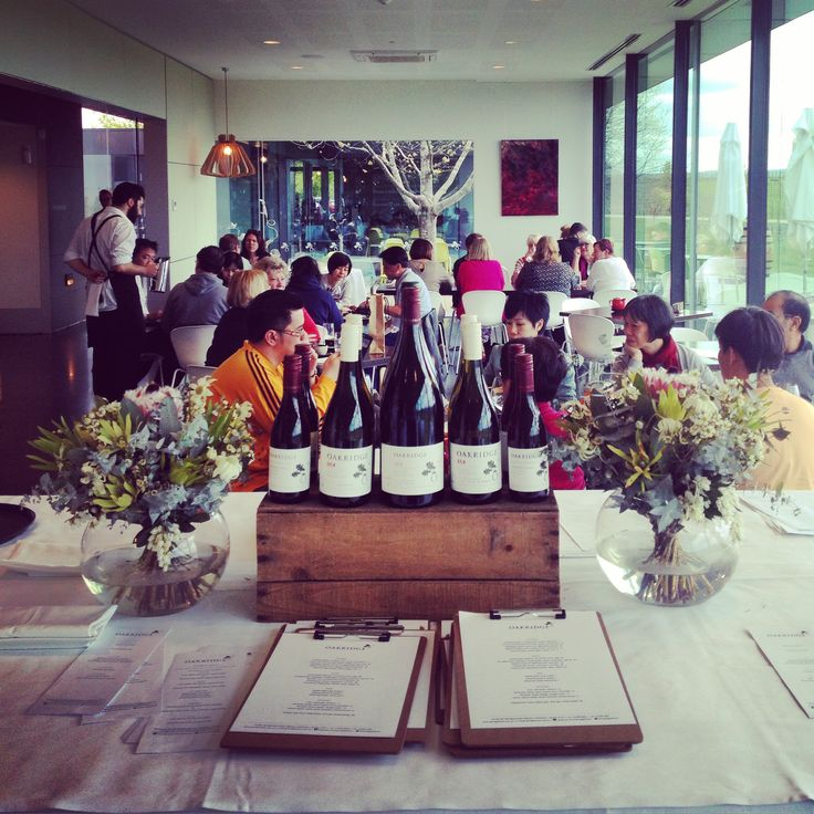 Oakridge Wines Wine, fine dining and amazing view = a happy Yarra Valley blogger.