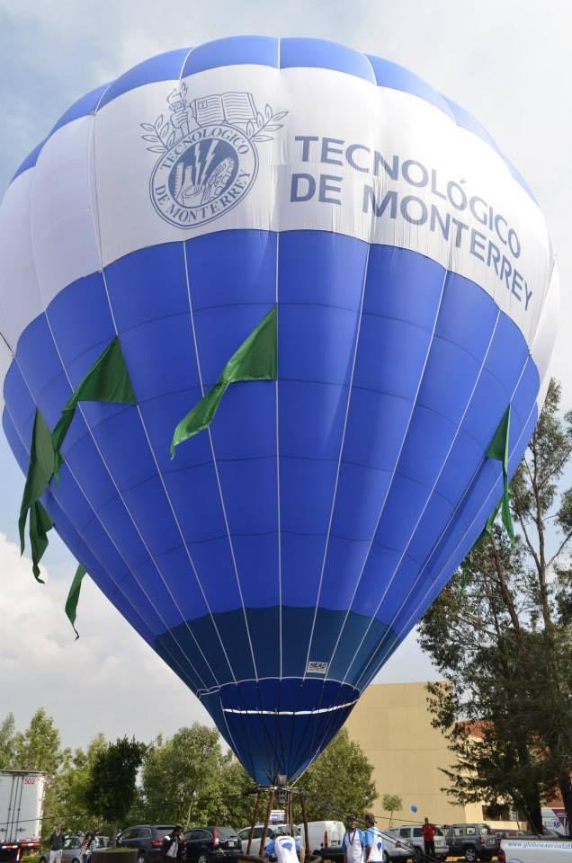 globo aerostatico tec de monterrey 70 aniversario