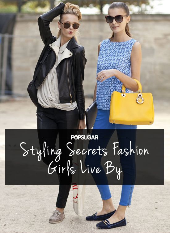 13 Styling Tricks Fashion Girls Live By
