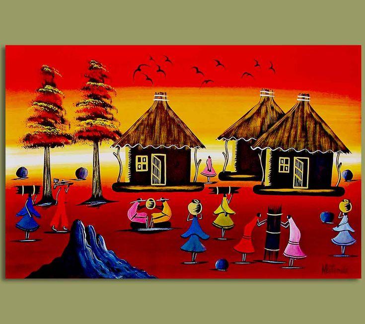 81 best African Art images on Pinterest | African art ...