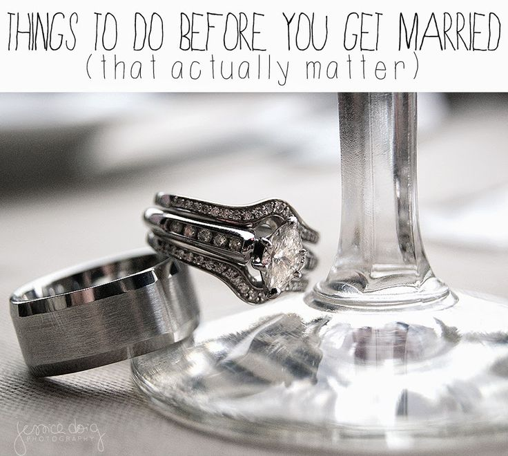House of Doig: Things To Do Before Marriage (That Actually Matter)