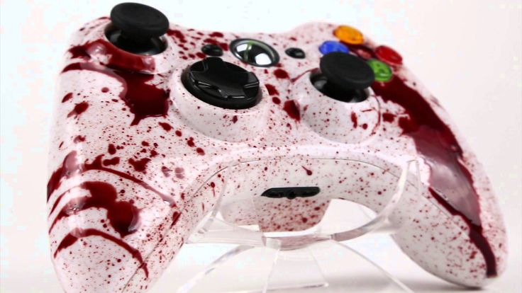 Blood Splatter - XBOX 360 - Modded Controllers - Controller Chaos
