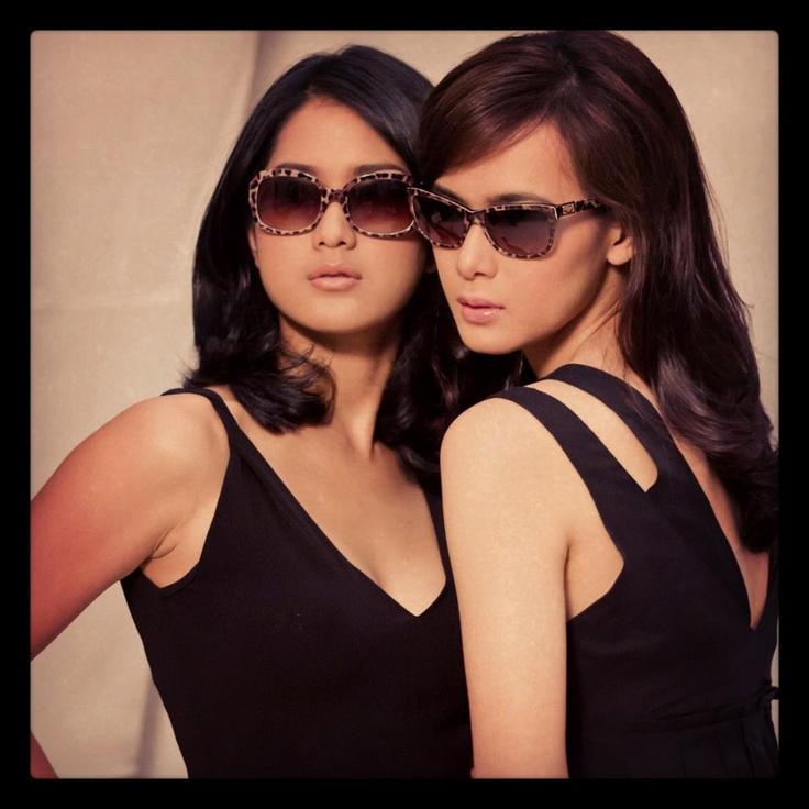 Renata Kusmanto & Prisia Nasution wearing Dolce & Gabbana Sunglasses