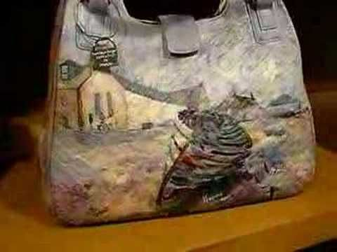 "▶ "" Artistic Bags "" Vere e proprie opere d'arte da indossare.. - YouTube"