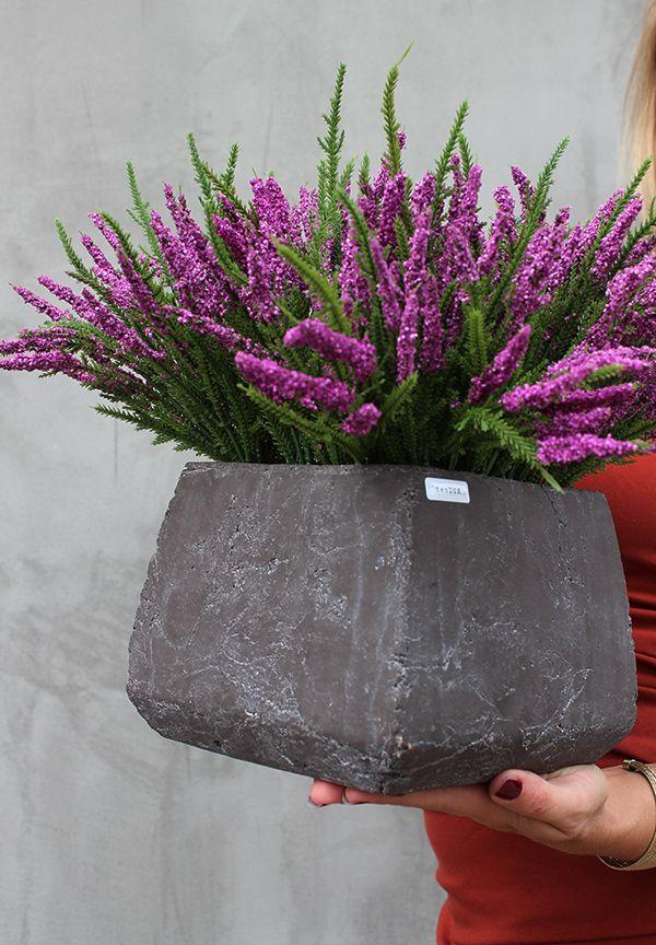 Sztuczne Wrzosy Z Pracowni I Sklepu Tendom Pl How To Dry Basil Planter Pots Herbs