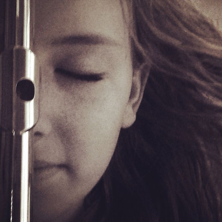 Me. Amazing photo for flute players