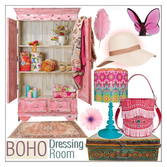 Boho Dressing Room! by whirlypath on Polyvore