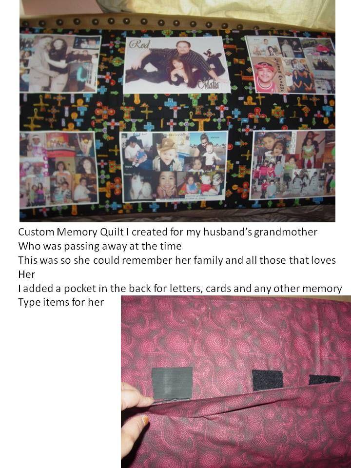 Custom Memorabilia Quilt