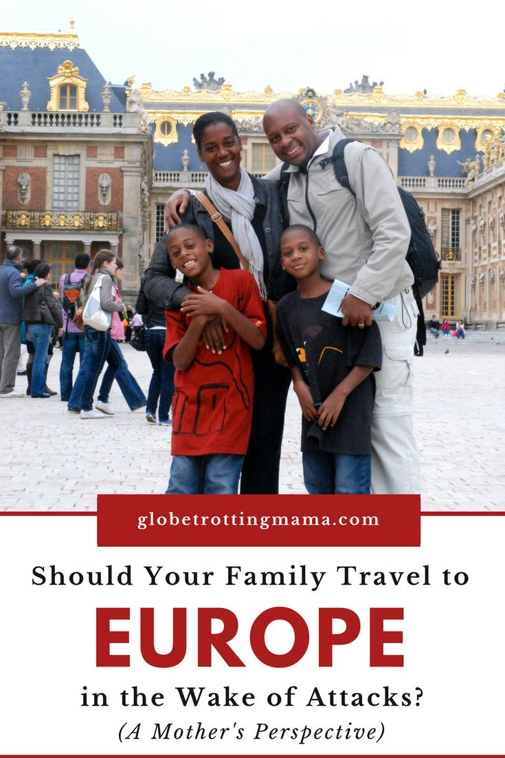 Europe is a bucket list destination for many families looking to plan a once-in-a-lifetime trip with their kids.  However, in the wake of the attacks that have occurred across Europe (particularly in Paris and England), is it really safe to travel with your children in Europe anymore? Are there certain destinations you should avoid when planning your family travel itinerary? Practical tips for Europe travel. | Globetrotting Mama Travel and Parenting Blog #Europe