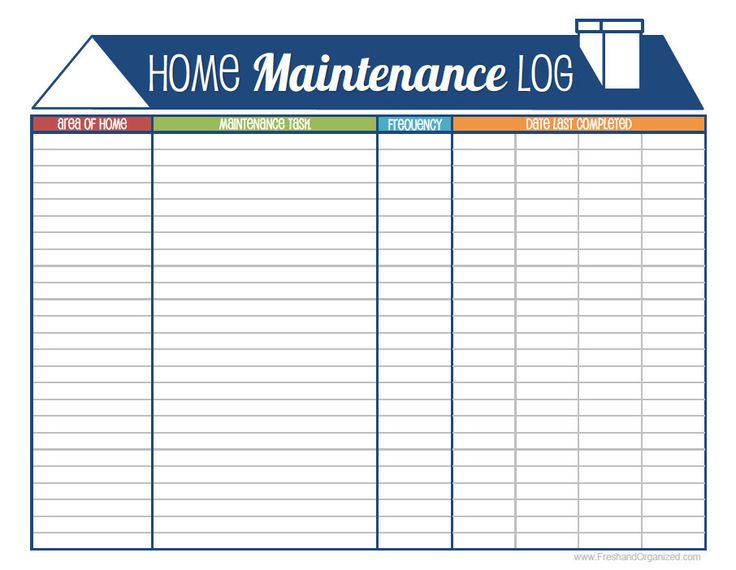 Best  Home Maintenance Schedule Ideas Only On