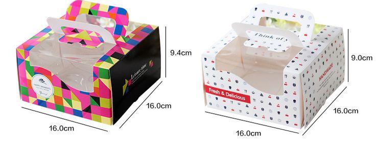 Упаковка мини портативное устройство торт мода британский stylepackaging коробке 2 шт. купить на AliExpress
