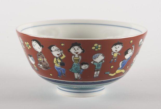 石川県の老舗窯元「青郊窯」さんの手により、サザエさんが九谷焼になって登場!全国を巡回中の「ありがとう45周年!みんなのサザエさん展」にて発売しています。…