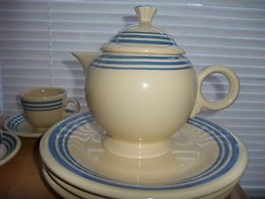 exclusive fiesta dinnerware | ... about Rare Fiesta Fiestaware Lapis Blue Stripe Teapot HLCCA & 183 best Fiesta Ware images on Pinterest | Fiesta ware Homer ...