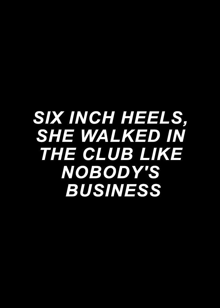 Beyoncé 6 Inch Heels Lemonade Music Lyrics  23.04.2016