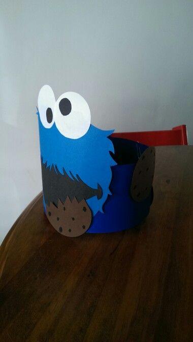 Verjaardagsmuts cookie monster