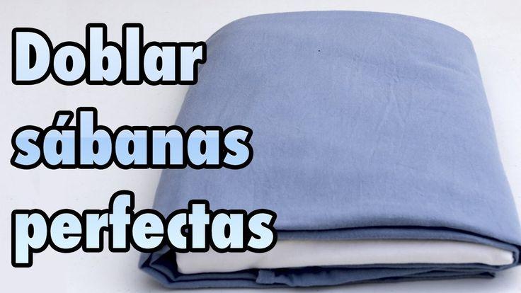 Cómo doblar sábanas bajeras o ajustables - ahorrar espacio