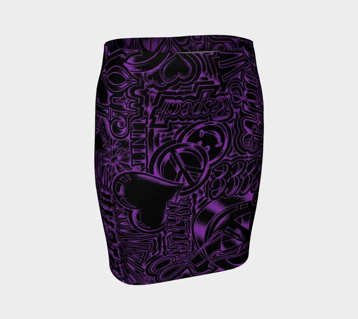 Imagine - Fitted Skirt