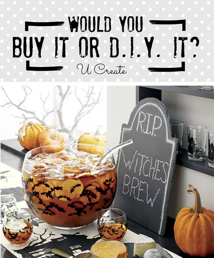 So for those of you who are new to our new Buy it or D.I.Y. it? series heres how it works......