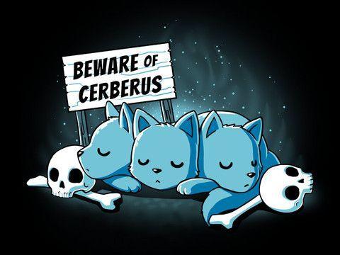 beware cerberus chibi cerberus blue - Google Search