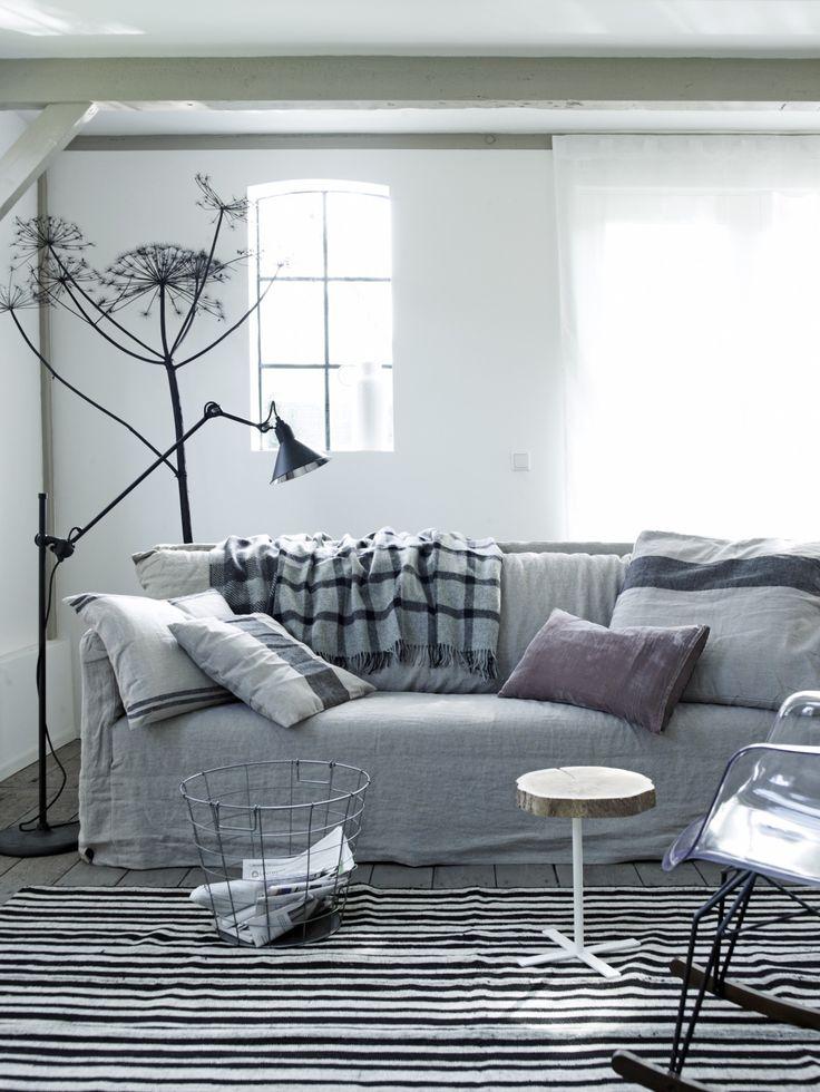 25 beste idee n over linnen bank op pinterest linnen sofa grote bank en moderne bank - Bank cabriolet linnen ...