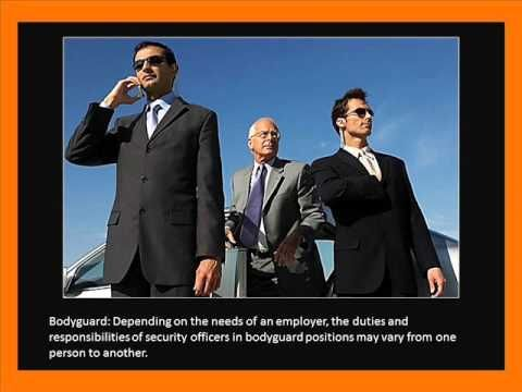 Employment Opportunities When You Obtain Certificate II in Security - YouTube