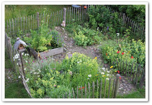 Bauerngarten via Frau Landgeflüster Blog