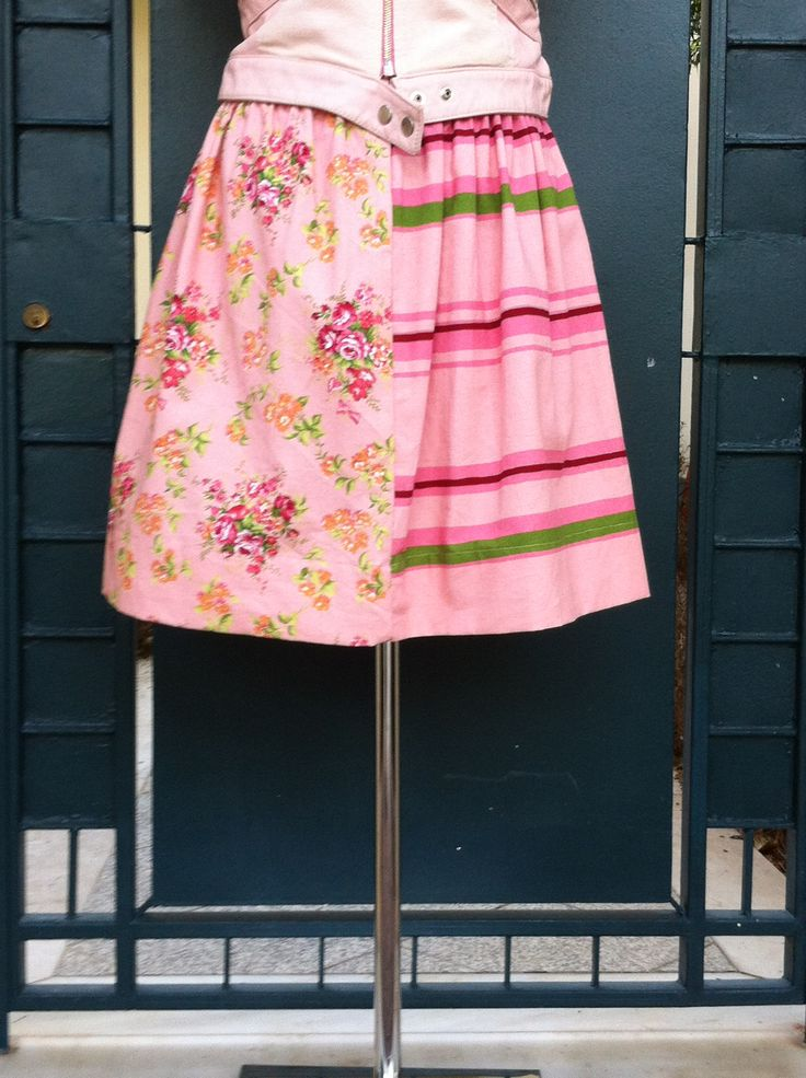 #floral#midi#skirt#pink#girly