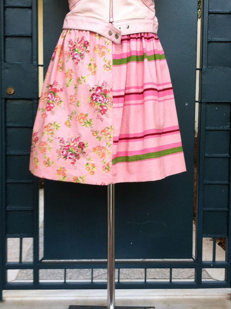 #floral#midi#skirt#pink#girly