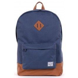 Unisex Navy Heritage Backpack by Herschel Glue Store - Kotara