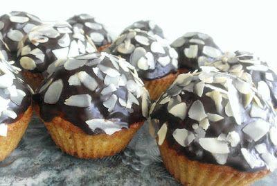 Muffiny bakaliowe z czekoladą
