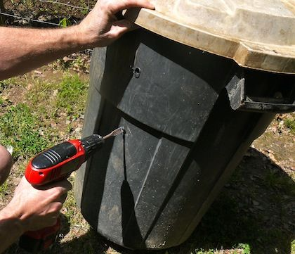 how to make a homemade compost bin