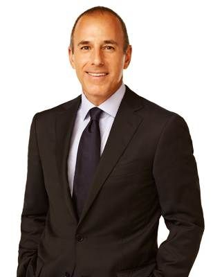 Matt Lauer - co-anchor of TODAY since January 1997, he's a legend and seems like a nice guy!