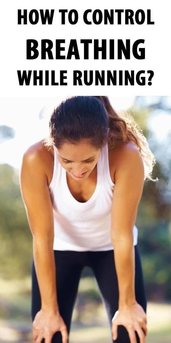 how to work on breathing while running
