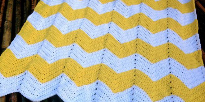 Chevron Baby Blanket Free Crochet Pattern | Chevron baby ...