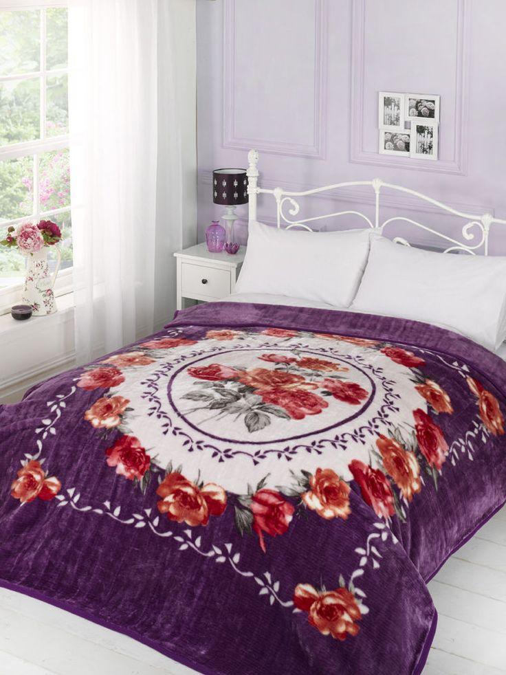 Les 25 meilleures id es concernant couvre lit rose sur pinterest literie ro - Couvre lit aubergine ...