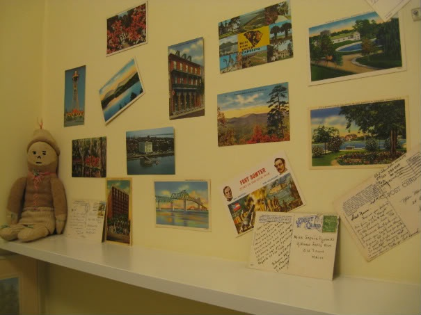 Travel Room Postcard Decorating Ideas