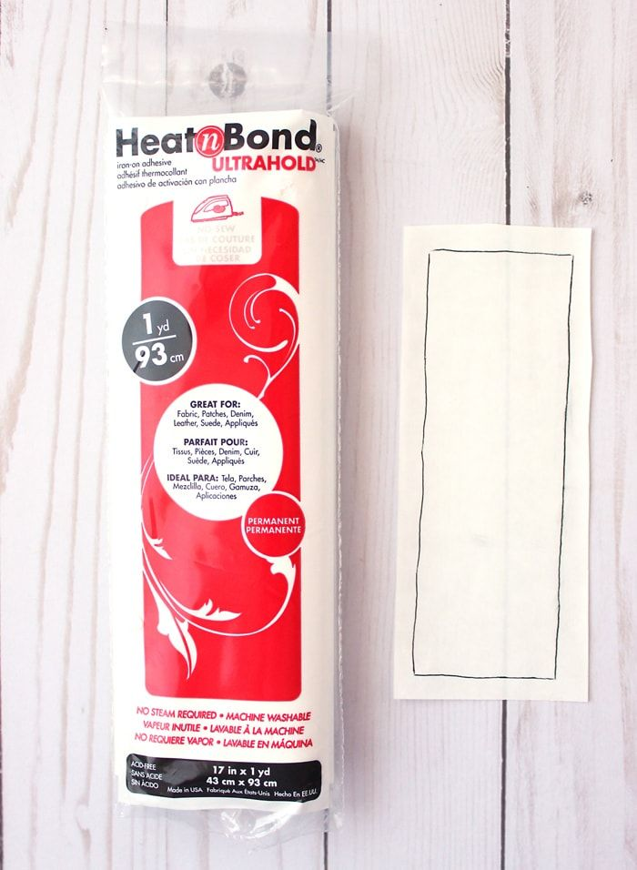 1yd//93cm Heat N Bond Ultra Hold Iron On Adhesive Appliqué Fabric Patch Quilting