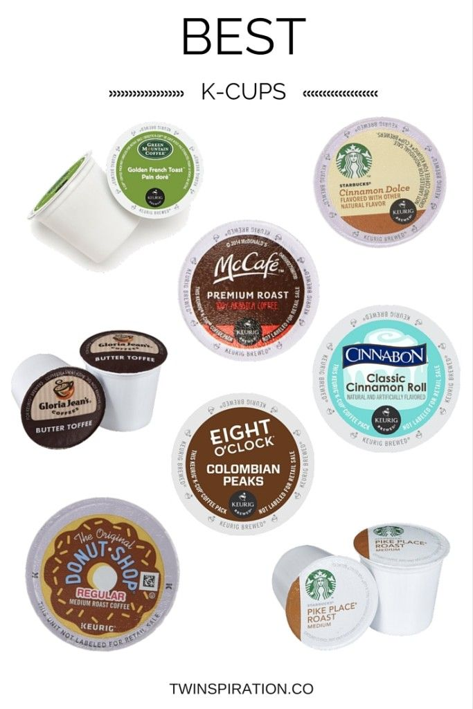 The Best K-Cups by Twinspiration