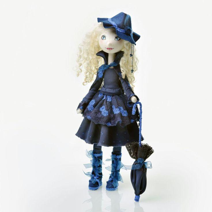 Загадочная дама куклы Татьяны Бутузовой