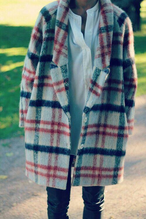 .Magnifique manteau.