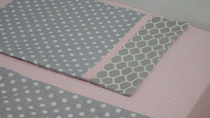 Concepção de Jogo lençol berço americano cinza rosa e preço http://ift.tt/2h42Be4