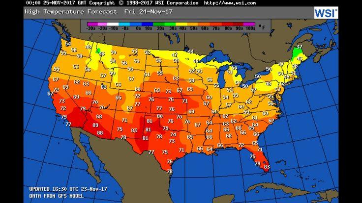 ASMR Weather Forecast for Friday Nov 24/ Tropical update.