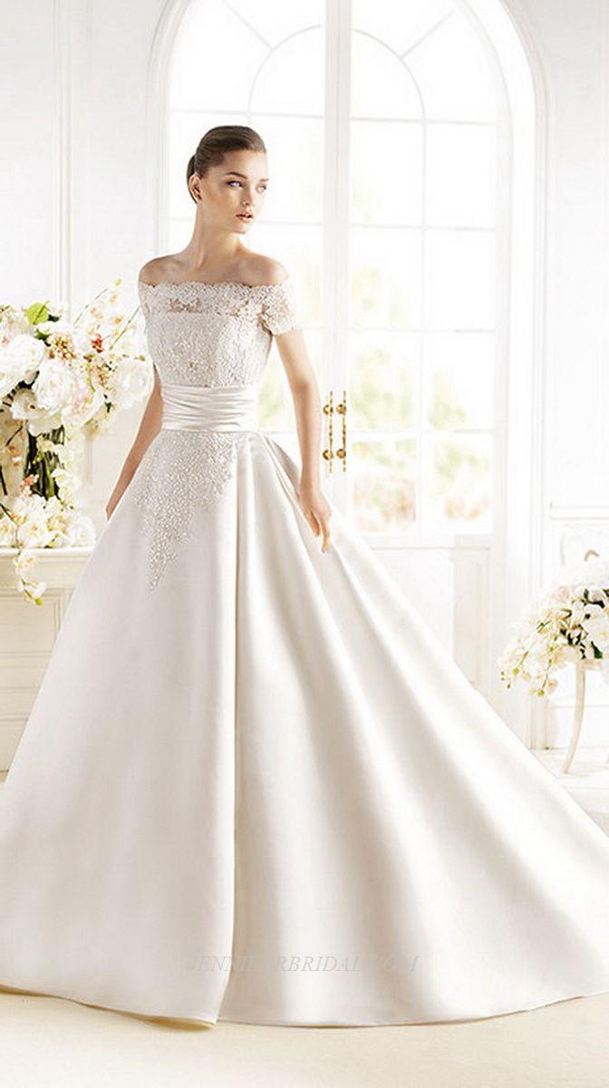 253 best Wedding Dresses images on Pinterest | Hochzeitskleider ...
