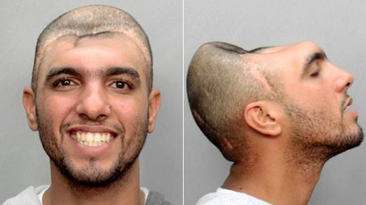 I don't know WHAT to make out of that. If you ever need picture proof that aliens exist on this planet, this is it. Share these bizarre mugshots with others...