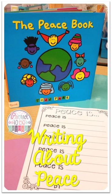 Writing about Peace - Activities for Remembrance Day and Veteran's Day.