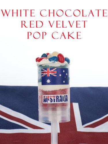 Australia Day Cake Pop!