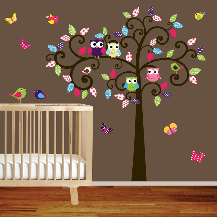 Best Wall Stencils Images On Pinterest Wall Stenciling - How to put up a tree wall decal