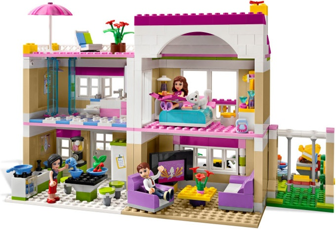 LEGO Friends Olivias House Round The Back
